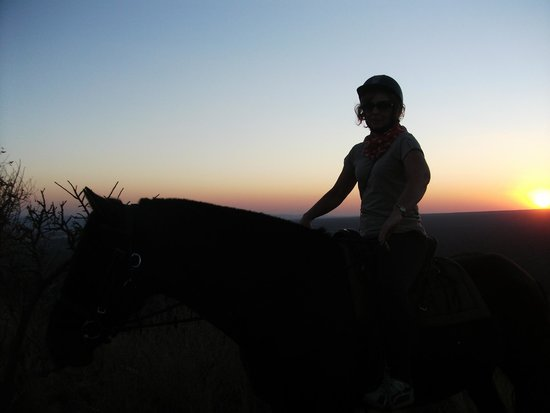 Ant's Hill & Ant's Nest: Ending a ride at sun-down