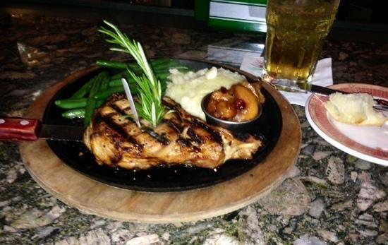 Watermark Grille: great grilled pork chop