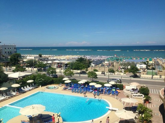 Hotel Valverde & Residenza: Vista dalla nostra stanza