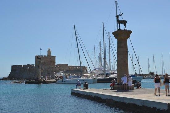 Louis Colossos Beach Hotel : Rhodes harbour