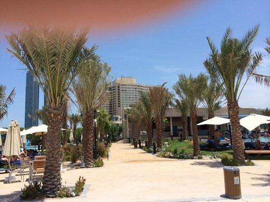 InterContinental Abu Dhabi: Aussicht aufs Hotel
