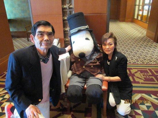 Imperial Hotel Osaka: ホテルマスコットキャラクタドァマンスヌピーと
