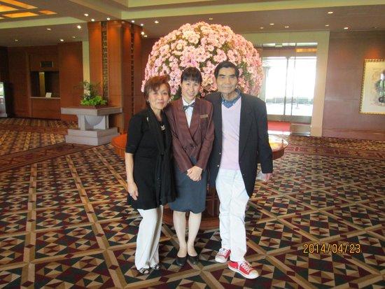 Imperial Hotel Osaka: 親切だったホテルスタッフと