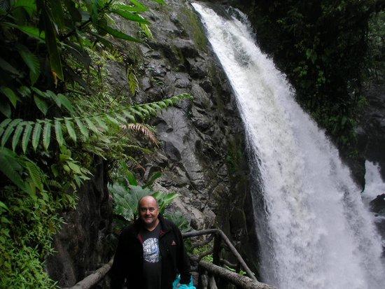 La Paz Waterfall Gardens: cascade