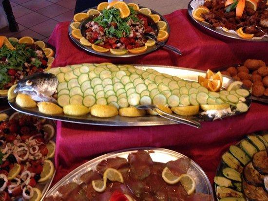 Eden Village Altura: Pesce sempre fresco!