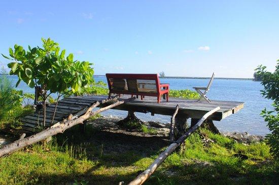 Blue Heaven Island lodge : Espace détente