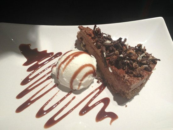 Sol y Sombra Tapas Bar : chocolate cheesecake