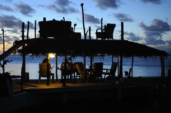 Blue Heaven Island lodge : Une des salles à manger