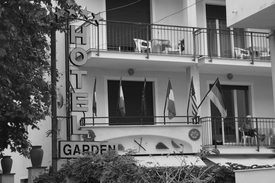 Hotel Garden: camera vista mare
