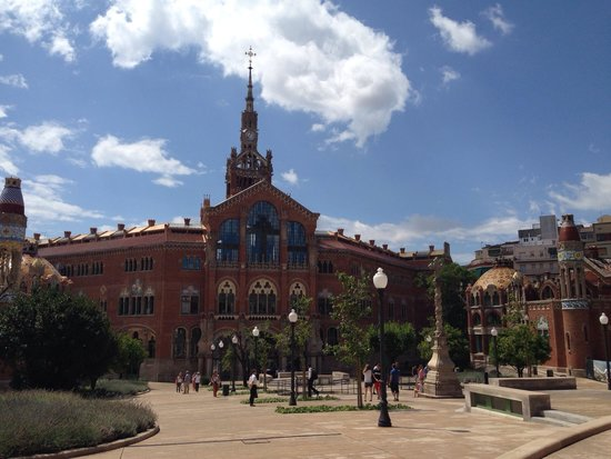 Recinte Modernista de Sant Pau : Prédio principal