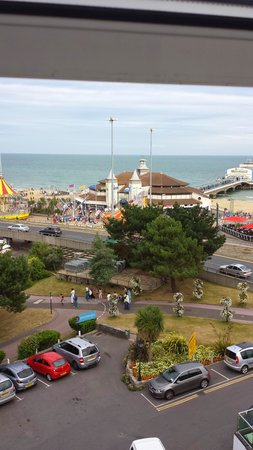 The Hermitage Hotel Bournemouth: Great views