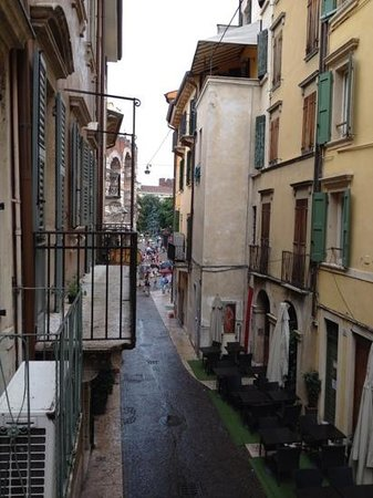 Giulietta e Romeo Hotel: la vue de la residence giulietta e romeo