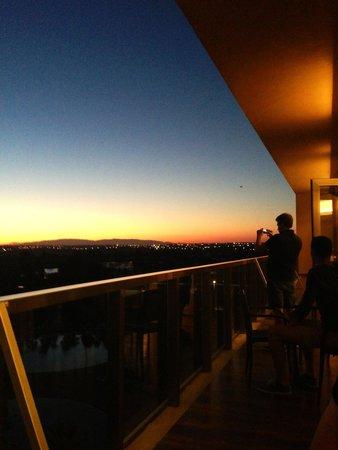 Salgados Palace: View from Sunset Bar