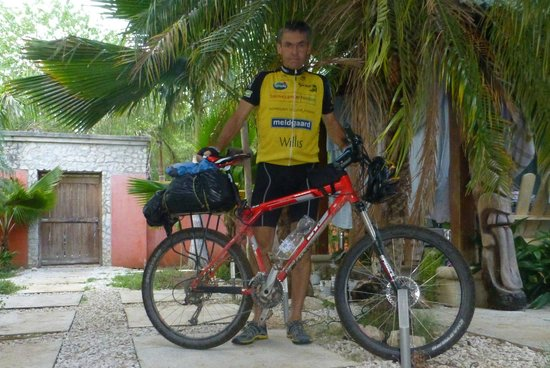 Guanabikers: Bike & rider
