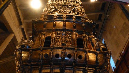 Vasa-Museum: The stern