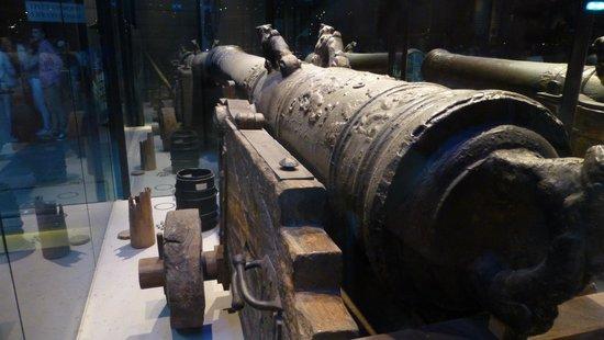 Vasa-Museum: A canon
