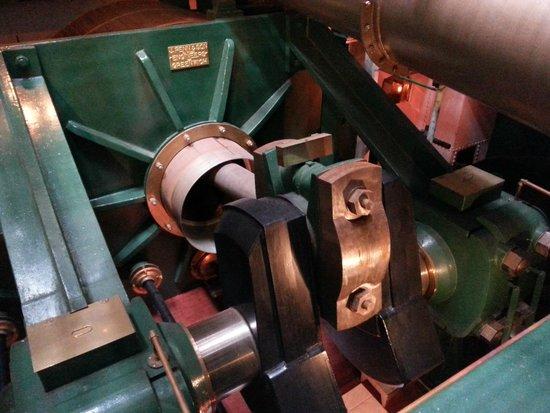 HMS Warrior 1860: Steam engine