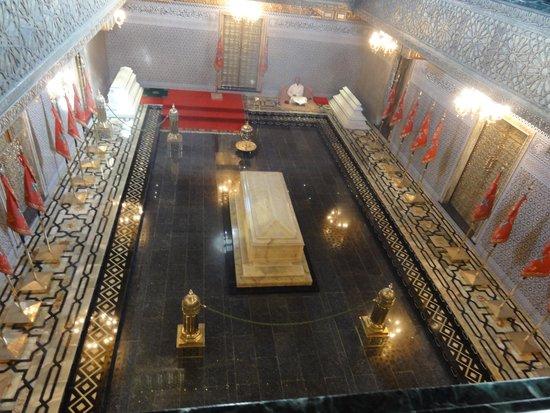Royal Palace of Rabat: mausoleo Mohammed V