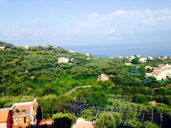 Grand Hotel Aminta: View from our room