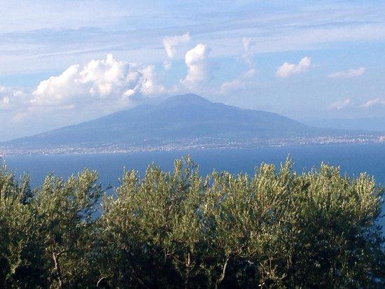 Grand Hotel Aminta: View of Vesuvius from Aminta
