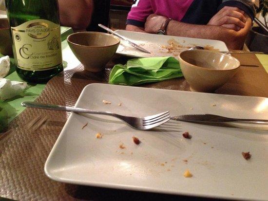 Le Bistrot à Crêpes : Comme je disais le principal était dans l assiette ^^