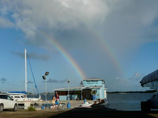 Celine Charters: A double rainbow over Celine.