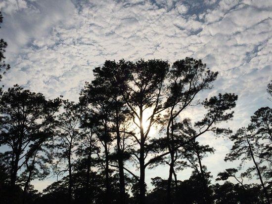 Cherrystone Family Camping Resort : Beautiful sunset