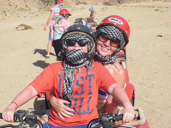 Sinai Safari Adventures: On the quads