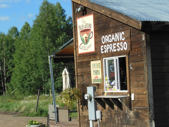 Annie's High Ground Coffee Shack: Great Coffee