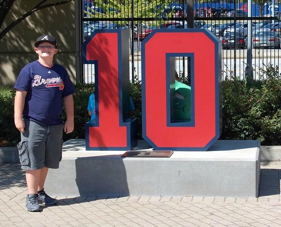 Turner Field: Located outside of the stadium - Pictures with your favorite players #