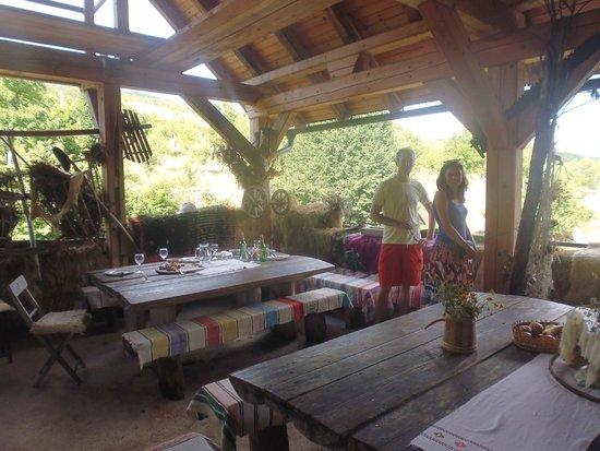 Polvljana, Kroatien: Dining area