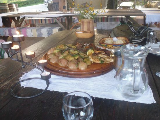 Polvljana, Croatia: Food