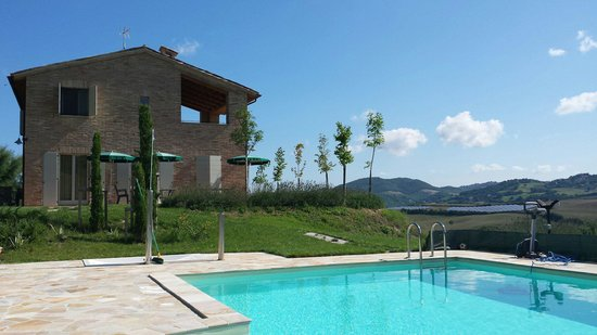 Ca'Lupino: View from the pool