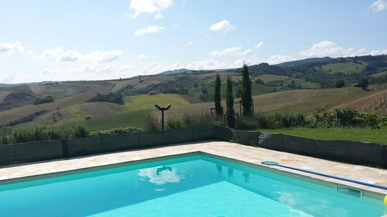 Ca'Lupino: View from the pool 2