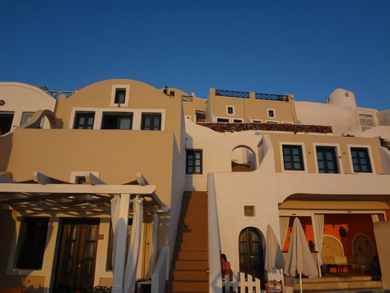 Afroessa Hotel: The hotel at sunset