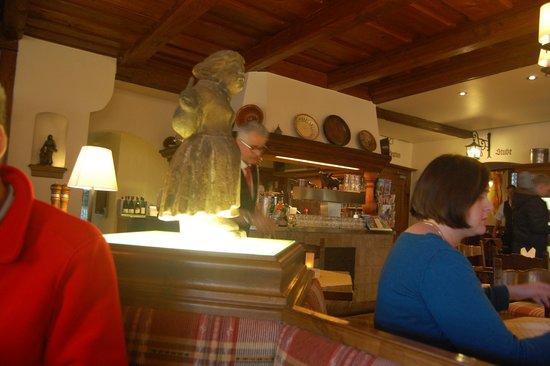 Hotel Reichskuchenmeister: Interior of restaurant