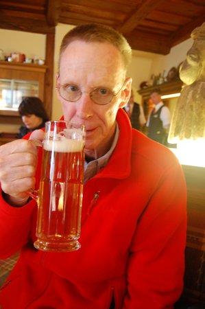 Hotel Reichskuchenmeister: Stein of German beer