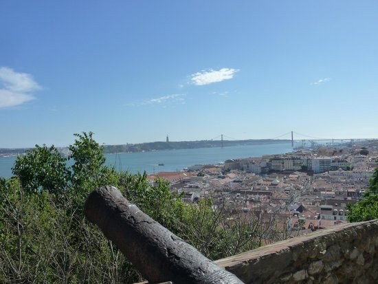 Panorama di Lisbona dal Castello S. Giorgio