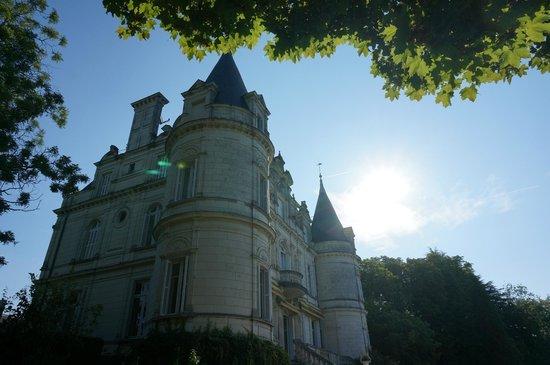 Domaine de la Tortiniere : The châteu-hotel