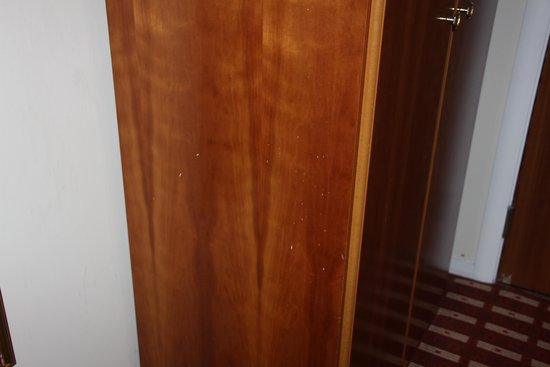 Fisher's Hotel: stained wardrobe