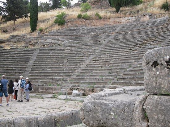 Ruines de Delphes : Delphi Theater