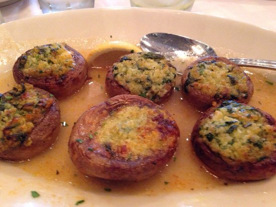 Maggiano's Little Italy: Stuffed.  Mushrooms.