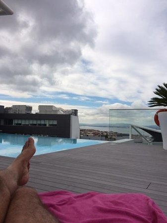EPIC SANA Lisboa Hotel: amazing view