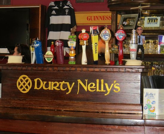 Durty Nelly's Authentic Irish Pub : Great beers on tap