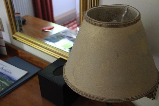 Fisher's Hotel: lamp shade