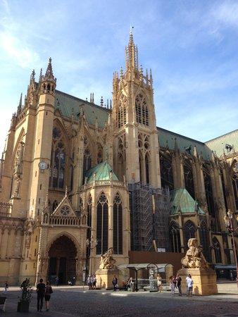 Metz Cathedral: Facade