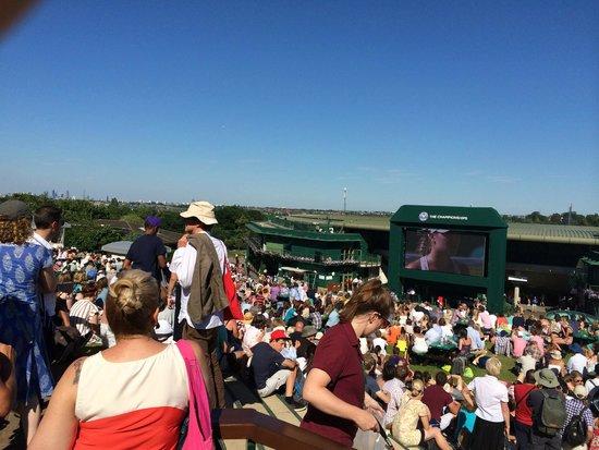 The All England Lawn Tennis Club: Henman Hill