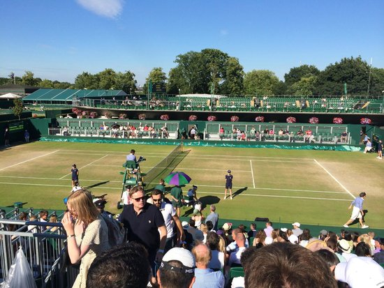 The All England Lawn Tennis Club: grounds