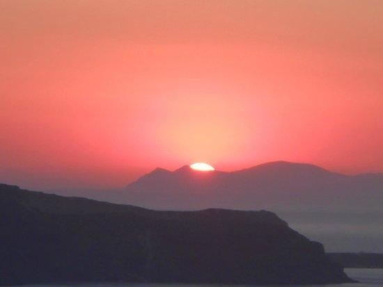 Esperas : coucher de soleil