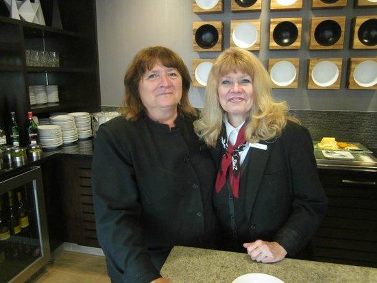 Marriott St. Louis Airport: Fantastic Concierge Lounge staff!